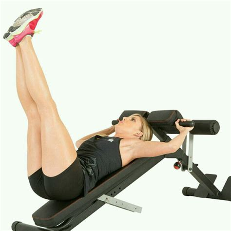 incline ab bench exercises incline bench leg raises exercise how to