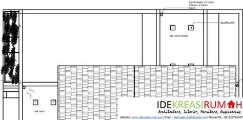 pencahayaan alami  atap dak beton  glass block ide kreasi rumah