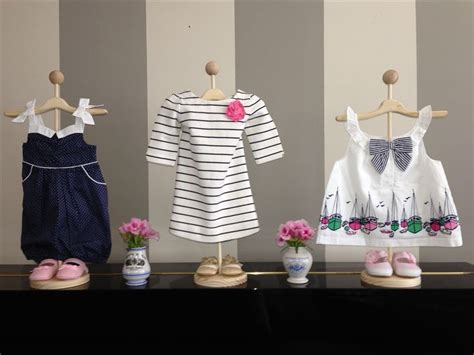 cute boutique decoration ideas ayshesy decorations use stands to display baby clothes for cute decorations