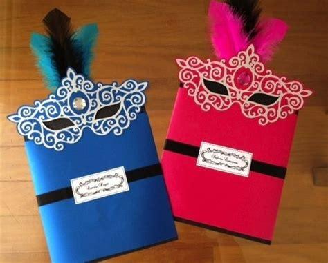 Handmade Masquerade Invitations - handmade masquerade invitations www pixshark
