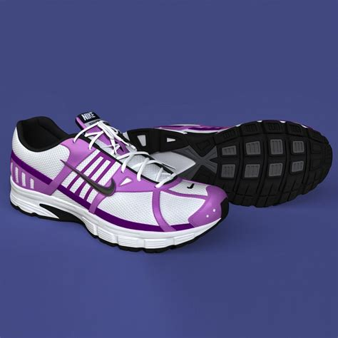 Sport Shoes Model 3017 3d model realistic sport shoes