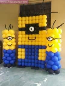 como hacer minions de globos fiesta de los minions con originales ideas de decoraci 243 n