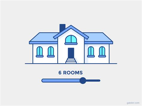 house animated gif responsive house by gal shir dribbble