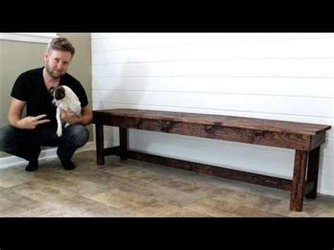 bench slang the 20 farmhouse bench easy diy project