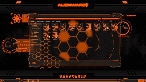 eclipse theme pack alienware 174 eclipse orange premium theme for windows se7en