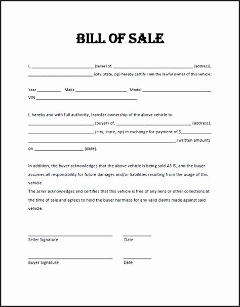 general bill of sale template atv bill of sale template hxa8e general