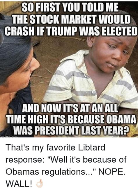 Stock Market Meme - 25 best memes about obama obama memes