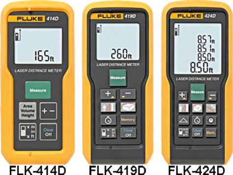 Fluke 424d Laser Distance Meter 100m fluke laser distance meters flk 411d flk 416d flk 421d