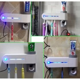 Tempat Sikat Gigi Dispenser Odol Antibacteria Uv Light tempat sikat gigi dispenser odol antibacteria uv light white jakartanotebook