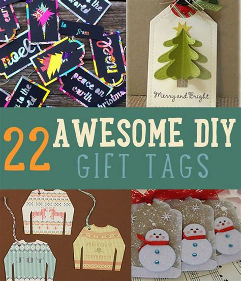 22 awesome diy gift tags christmas gift tags diy projects