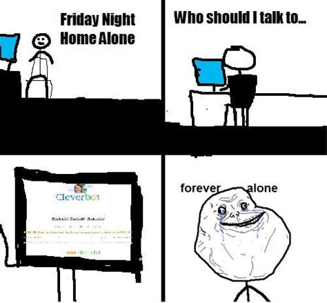 Forever Alone Meme Origin - image 81741 forever alone know your meme