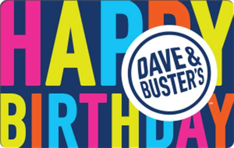 Dave And Buster Gift Card - dave buster s gift cards