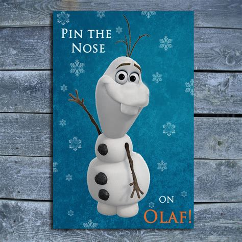 frozen printable olaf noses best photos of olaf no nose olaf from frozen without