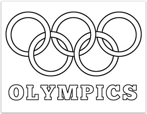 coloring pages olympic games olympic rings coloring page plucky momo family