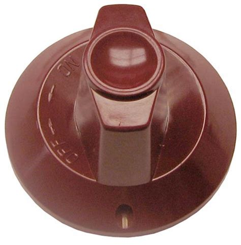 Wolf Stove Knobs by Knob Flat Up On D Stem Color Part Dvor 1554