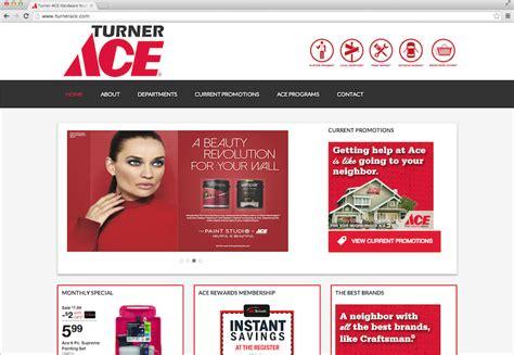 ace hardware website ace hardware website design njs marketing jacksonville fl