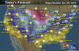 weather forecast map talking about the weather forecast in