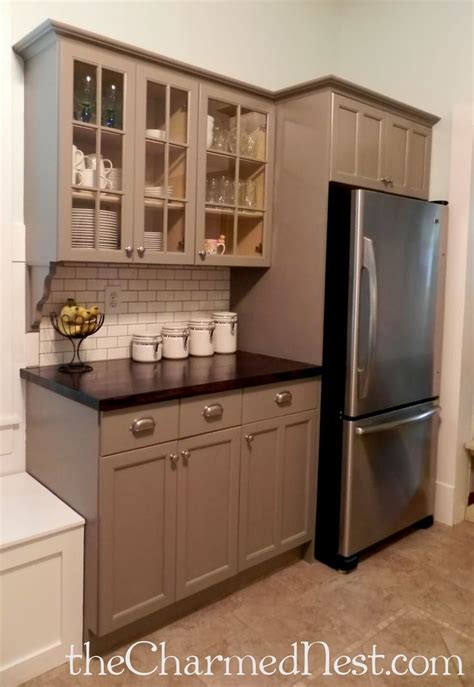 Painted Kitchens Cabinets 25 Best Ideas About Chalk Paint Cabinets On Pinterest Chalk Paint Kitchen Cabinets Painting