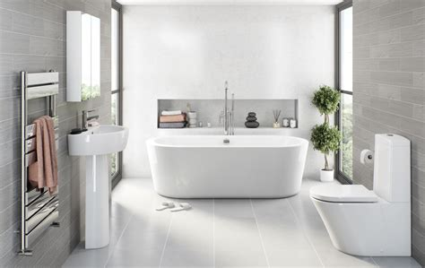 Light Grey Tiles Bathroom by Grey Bathroom Ideas Victoriaplum