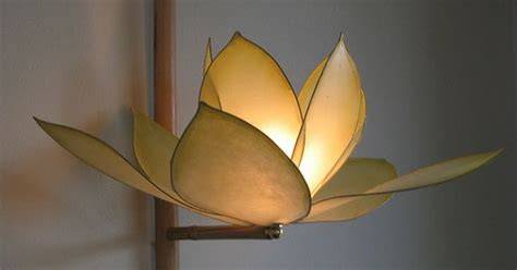 Creative Paper Crafting Portland - handmade paper light from hiih in portland sculpture