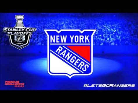 new york rangers by the numbers a complete team history of the broadway blueshirts by number books new york rangers 2015 playoffs goal horn