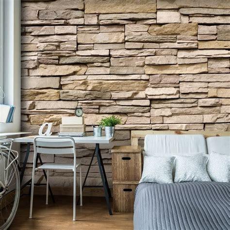 pared de piedra interior piedra en paredes decoraci 243 n de interiores y exteriores