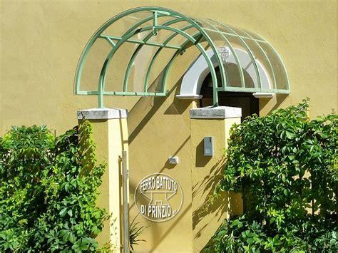 tettoie in ferro battuto e vetro staffe per pensiline in ferro