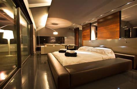 ultra modern bedroom designs newhairstylesformen2014 com ultra modern bedroom with leather bed and small living