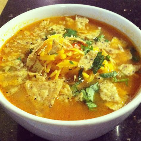 mexican chicken tortilla soup recipe dishmaps