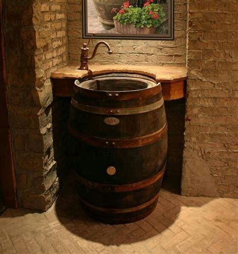 cool bar bathrooms unique bar sink idea bars pinterest stone bathroom