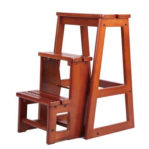 modern wooden step stool aliexpress buy modern multi functional three step