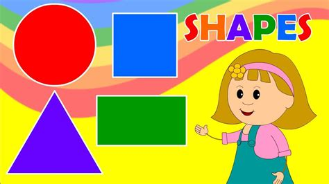 educational pictures for toddlers learn about shapes with elly for children by