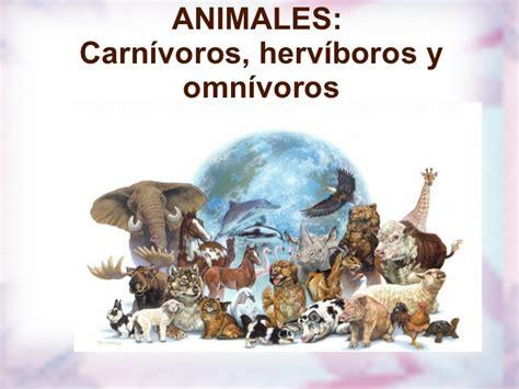 imagenes de animales herbivoros y carnivoros carnivoros herviboros omnivoros