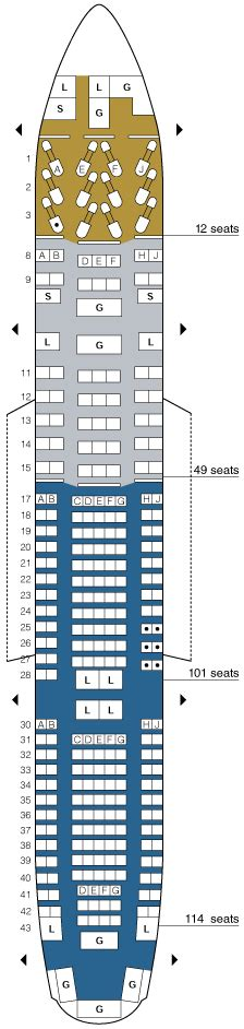 united 777 200 seat map united airlines aircraft seatmaps airline seating maps