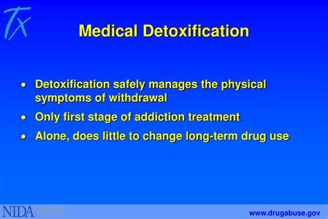 Detox Power Point by Ppt Understanding Abuse And Addiction What Science