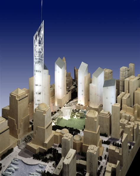 zero one design center world trade center master plan libeskind