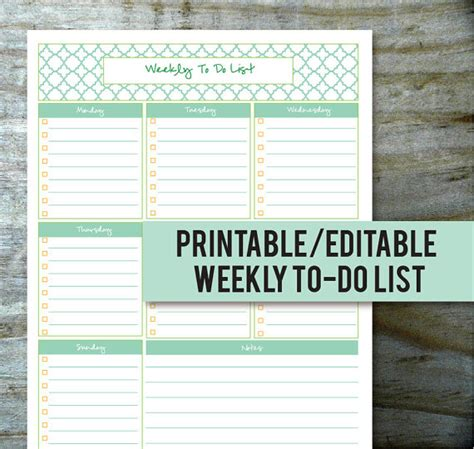 Printable And Editable To Do List | 8 best images of printable to do list business free