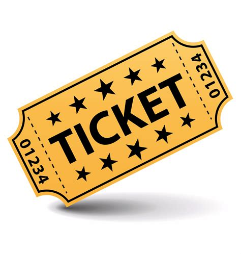 movie ticket clipart vectors download free vector art