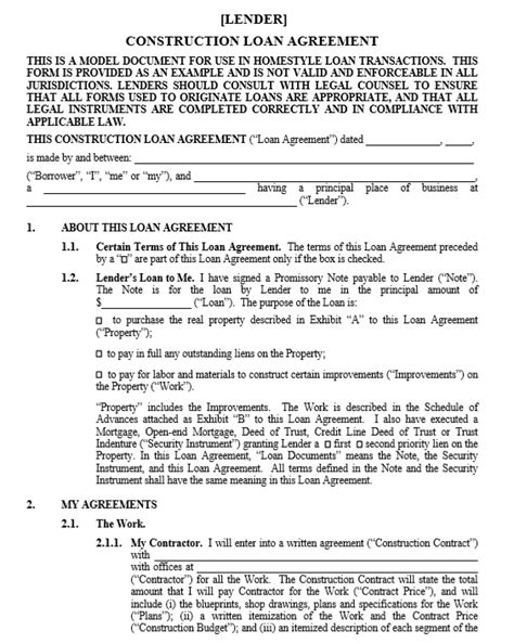 free sle loan agreement template free loan agreement templates pdf 28 images loan