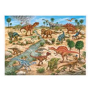 dinosaurs 24 pc floor puzzle educational toys planet