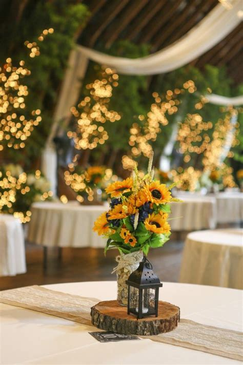 live themes jar sunflower barn wedding jars wedding and centerpieces