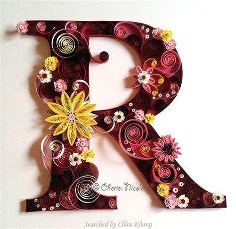 quilling tutorial in bangalore 169 cherie nicole quilled abcs 1 searched by ch 226 u khang