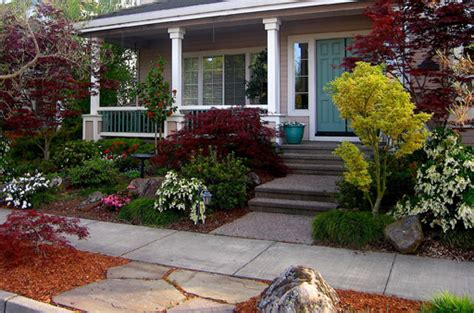 japanese landscaping ideas for front yard front yard landscaping small front yard but managed to