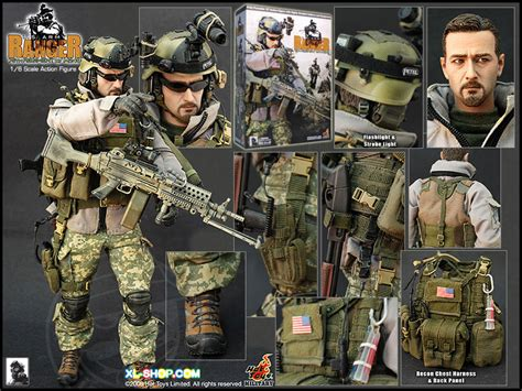 toy us army ranger 75th regiment with m249 12