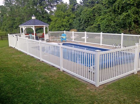 in ground fence swimming pool fences poly enterprises