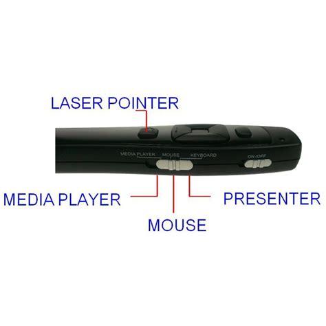 Infiniter Wireless Laser Presenter With Media Lr8 infiniter wireless laser presenter with media lr8 black jakartanotebook