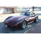 1976 Corvette Stingray  Looking Very Plain And In Stock Condition