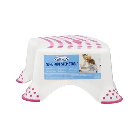 Graco Sure Foot Step Stool by Graco Sure Foot Step Stool Pink 1 0 Ct Walmart