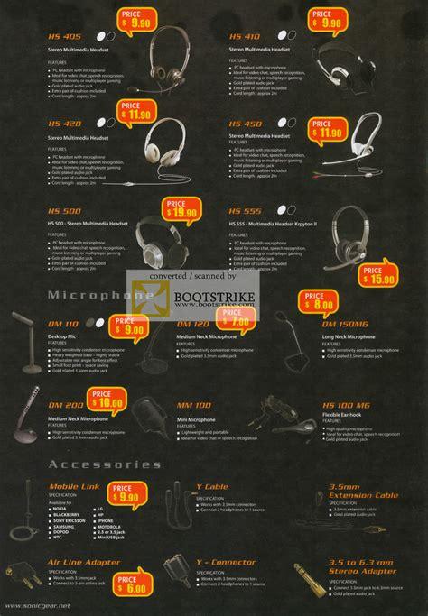 Headset Sonic Gear Hs Loop Ii X Warna Stok leapfrog sonicgear headsets hs 405 hs 410 hs 420 hs 450 hs