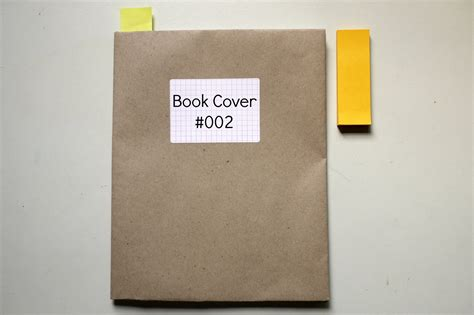 A Paper Book Cover - brown paper it blissful